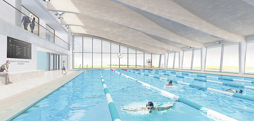 New 25m indoor swimming pool