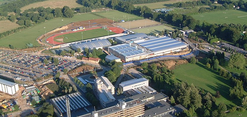 Aerial View of English Institute of Sport