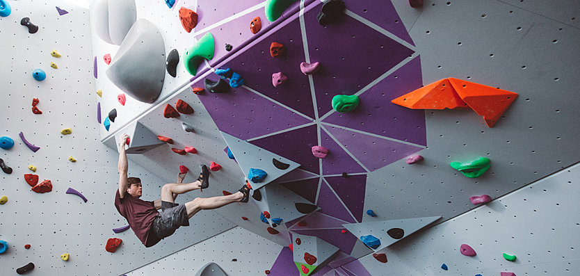 University of Warwick - Climbing wall and bouldering facility