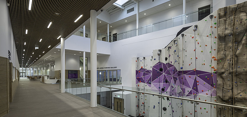University of Warwick - Main atrium with open views of activity