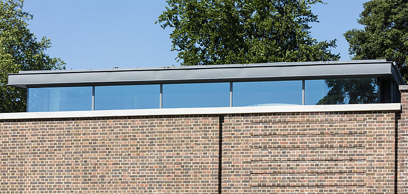Exterior view of the Hurlingham Club Gym Extension