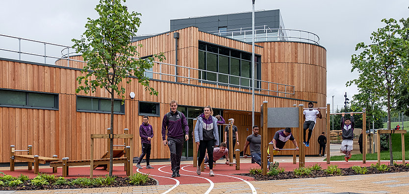 Loughborough University  - Student Hub and 'Active Landscape'